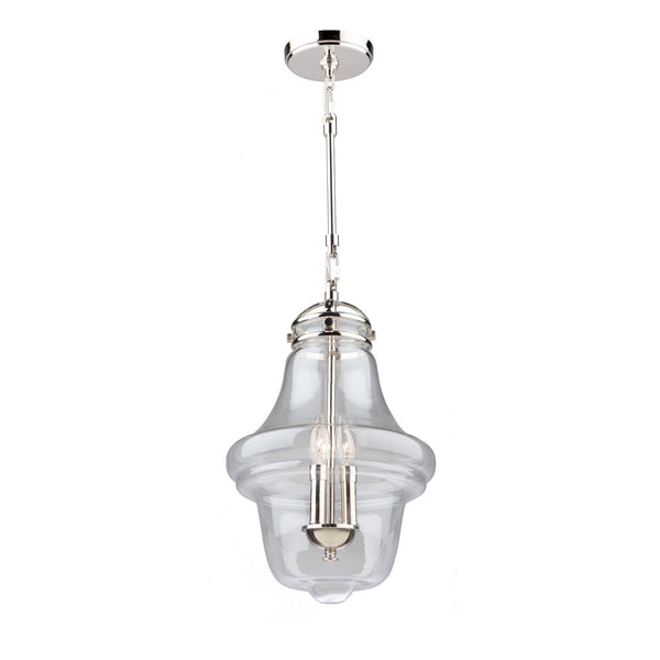 Artcraft AC11283PN Alexandria Three Light Pendant