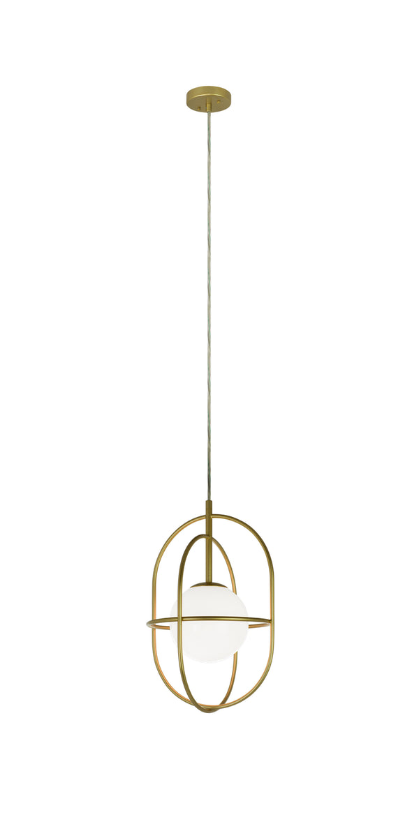 Matteo C76901GL Eclipse One Light Pendant