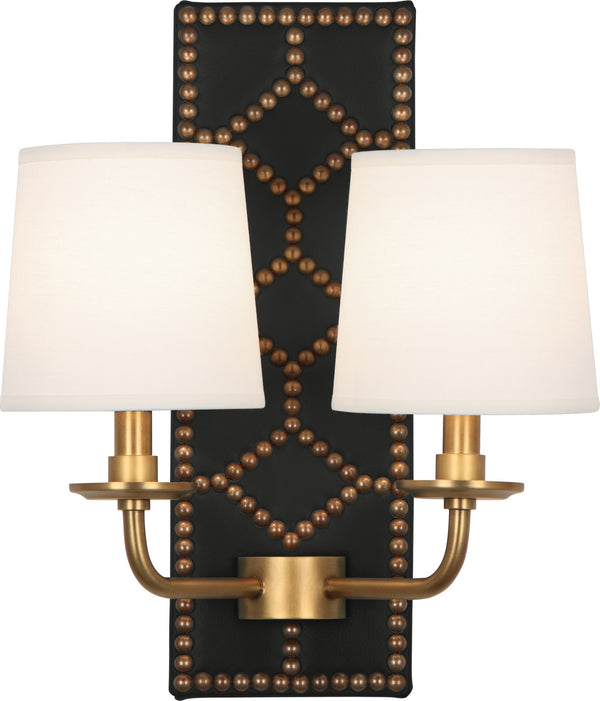 Robert Abbey 1035 Williamsburg Lightfoot Two Light Wall Sconce