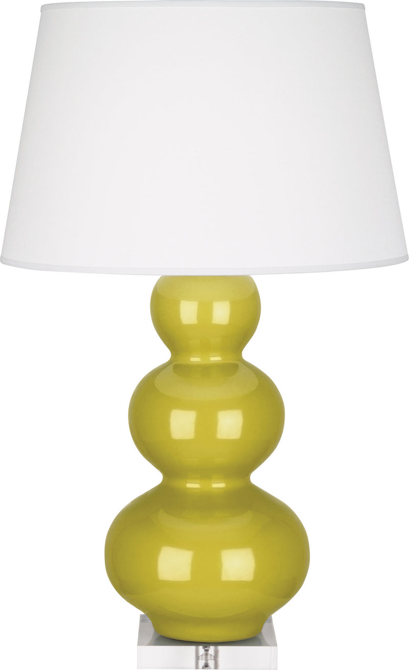 Robert Abbey CI43X Triple Gourd One Light Table Lamp