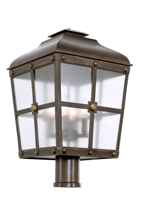 Kalco 403400AGB Sherwood Outdoor Four Light Post - Pier Mount