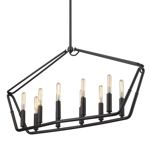 Golden 1039-LP NB Corbin Ten Light Linear Pendant