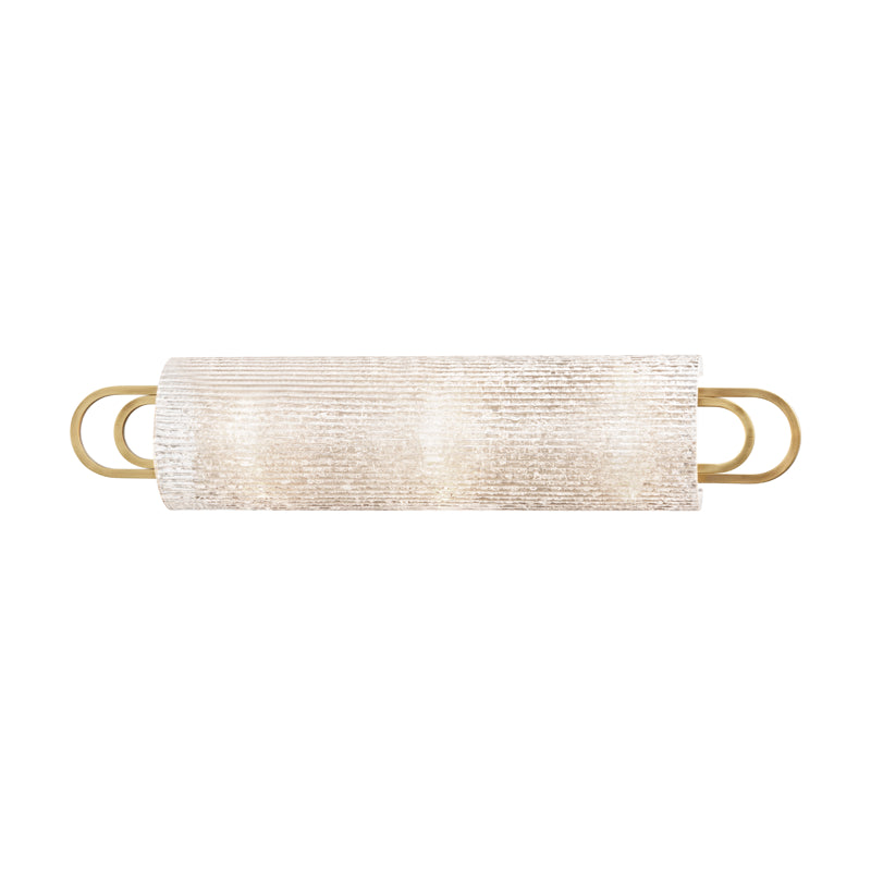 Hudson Valley 5843-AGB Buckley Three Light Bath Bracket