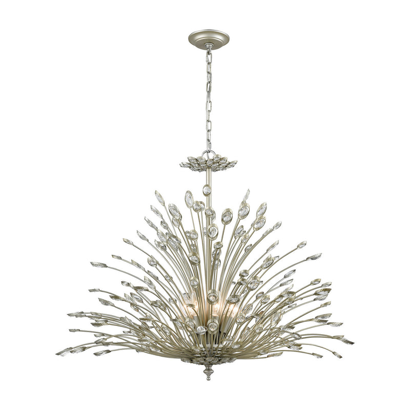 Elk Lighting 33185/8 Mullica Eight Light Chandelier