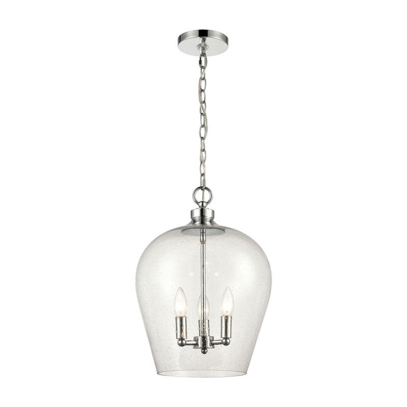 Elk Lighting 30065/3 Darlene Three Light Pendant