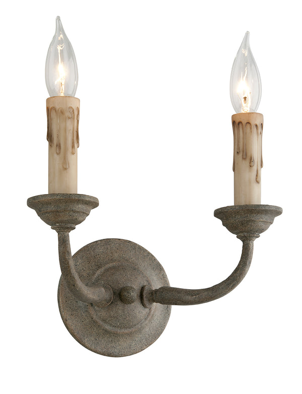 Troy Lighting B6112 Cyrano Two Light Wall Sconce