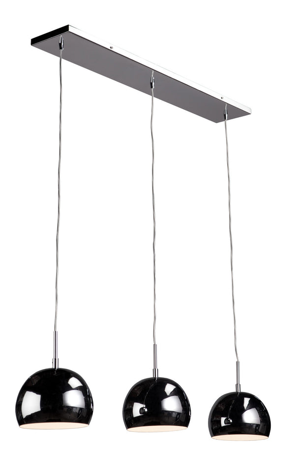 Artcraft SC554CH On The Spot Three Light Island Pendant