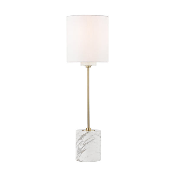 Mitzi HL153201-AGB Fiona One Light Table Lamp