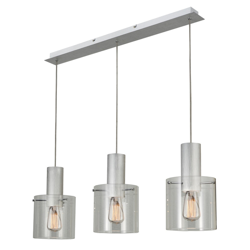 Artcraft AC11522CL Henley Three Light Island Pendant