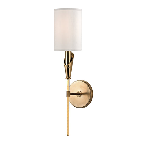 Hudson Valley 1311-AGB Tate One Light Wall Sconce