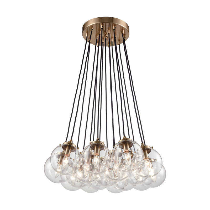 Elk Lighting 14466/17 Boudreaux 17 Light Chandelier