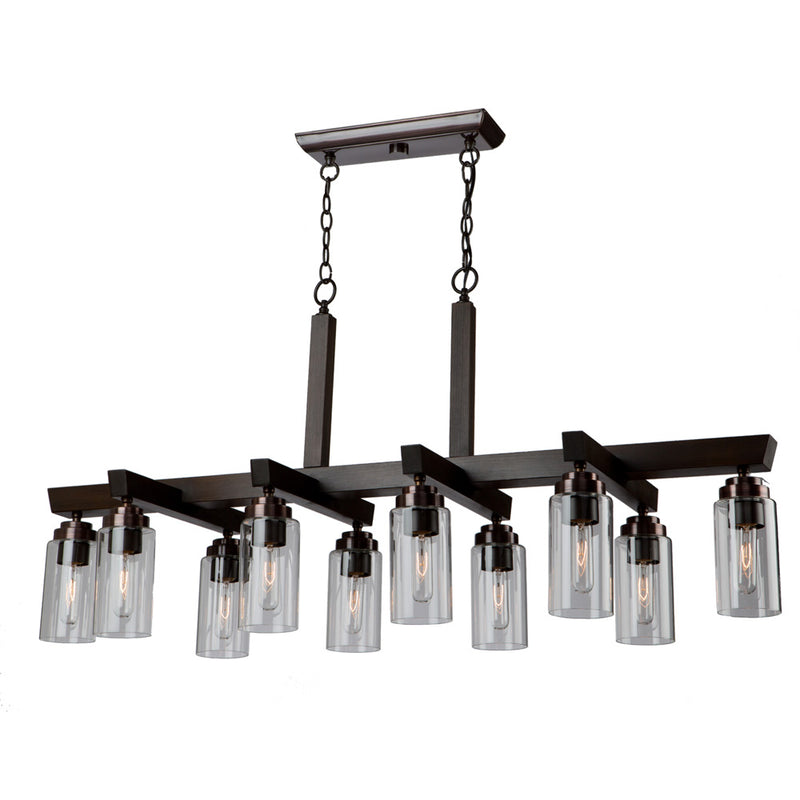 Artcraft AC10860BU Home Glow Ten Light Chandelier