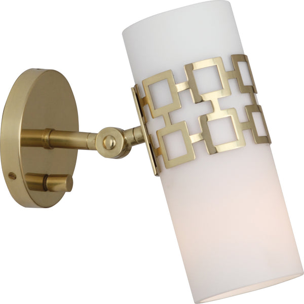 Robert Abbey 639 Jonathan Adler Parker One Light Wall Sconce