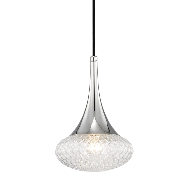 Mitzi H114701C-PN Bella One Light Pendant