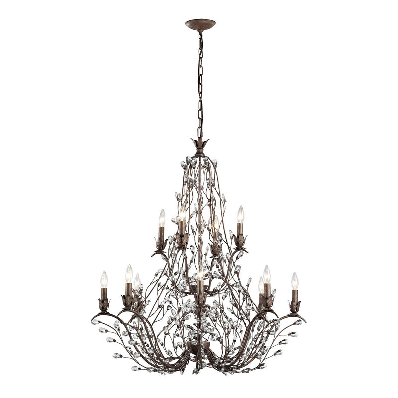 Elk Lighting 18147/8+4 Sagemore 12 Light Chandelier