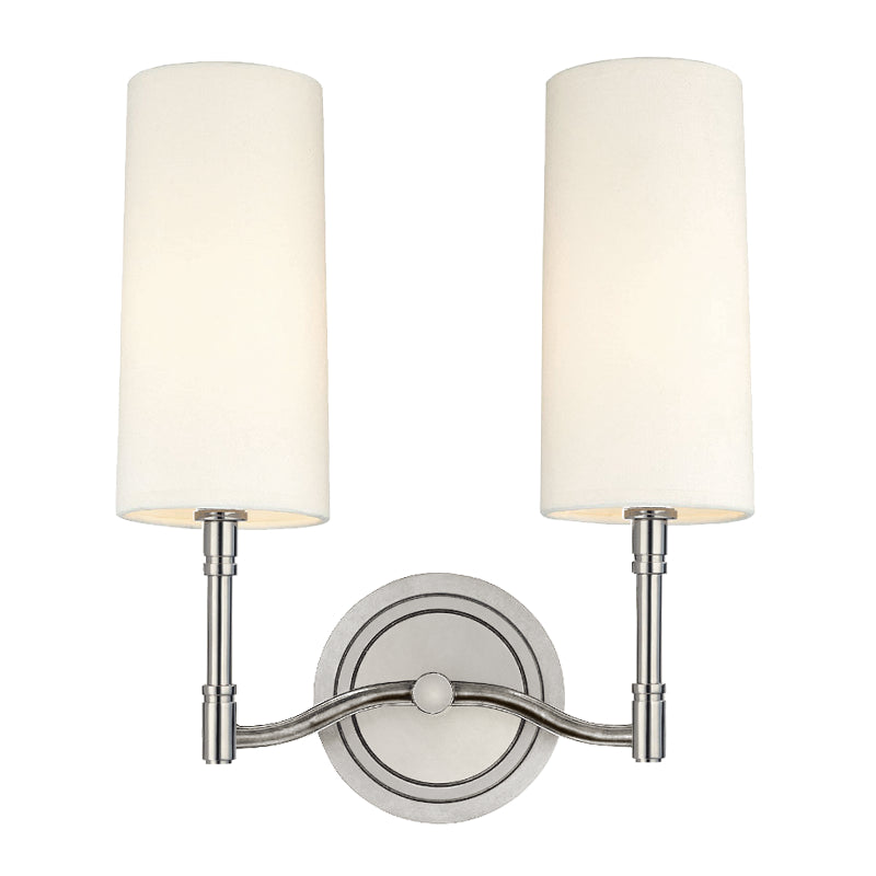 Hudson Valley 362-PN Dillon Two Light Wall Sconce