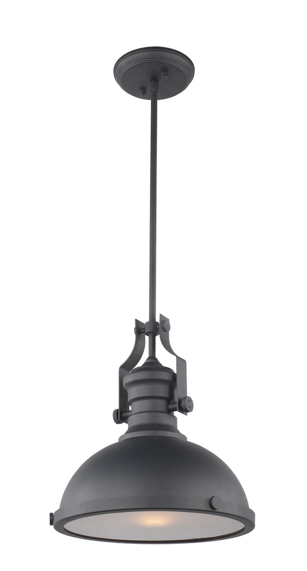 Matteo C53802MB Cresswell Series One Light Pendant