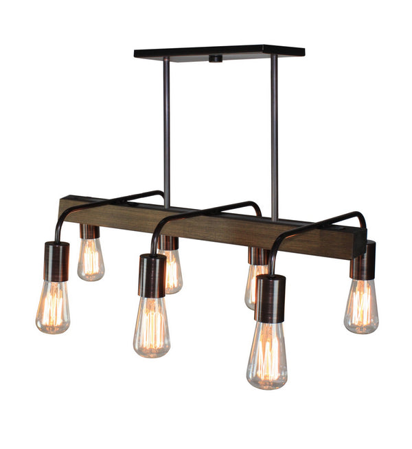 Artcraft AC10456BU Lynwood Six Light Island Pendant