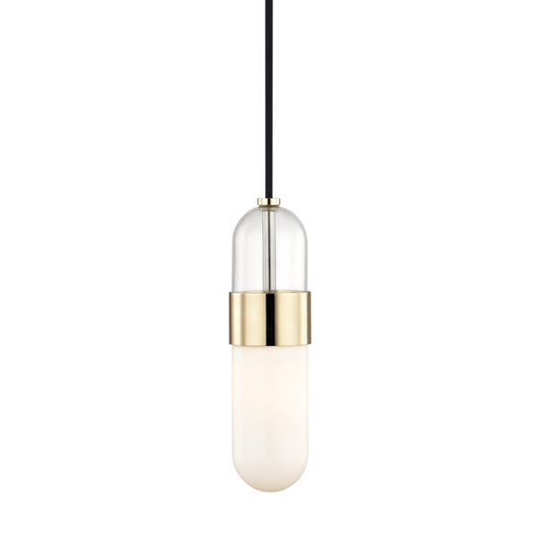 Mitzi H126701-PB Emilia One Light Pendant