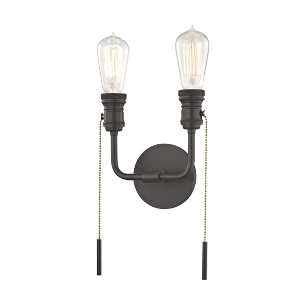 Mitzi H106102-OB Lexi Two Light Wall Sconce