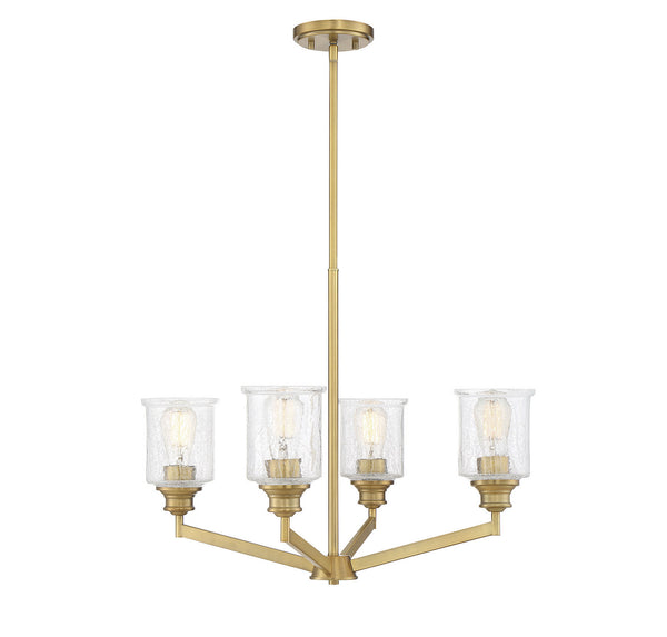 Savoy House 1-1970-4-322 Hampton Four Light Chandelier
