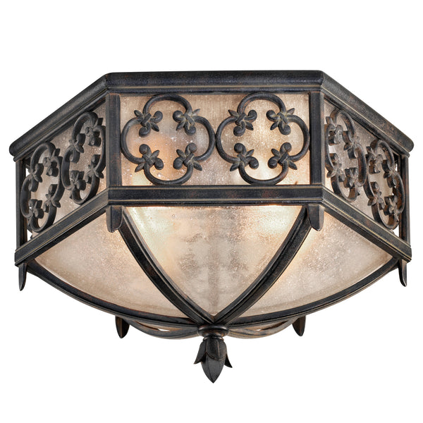 Fine Art 324882ST Costa del Sol Two Light Outdoor Flush Mount