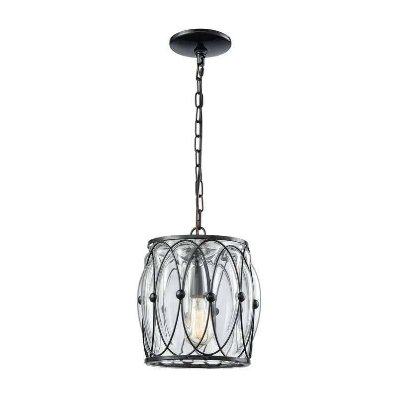 Elk Lighting 14520/1 Adriano One Light Mini Pendant