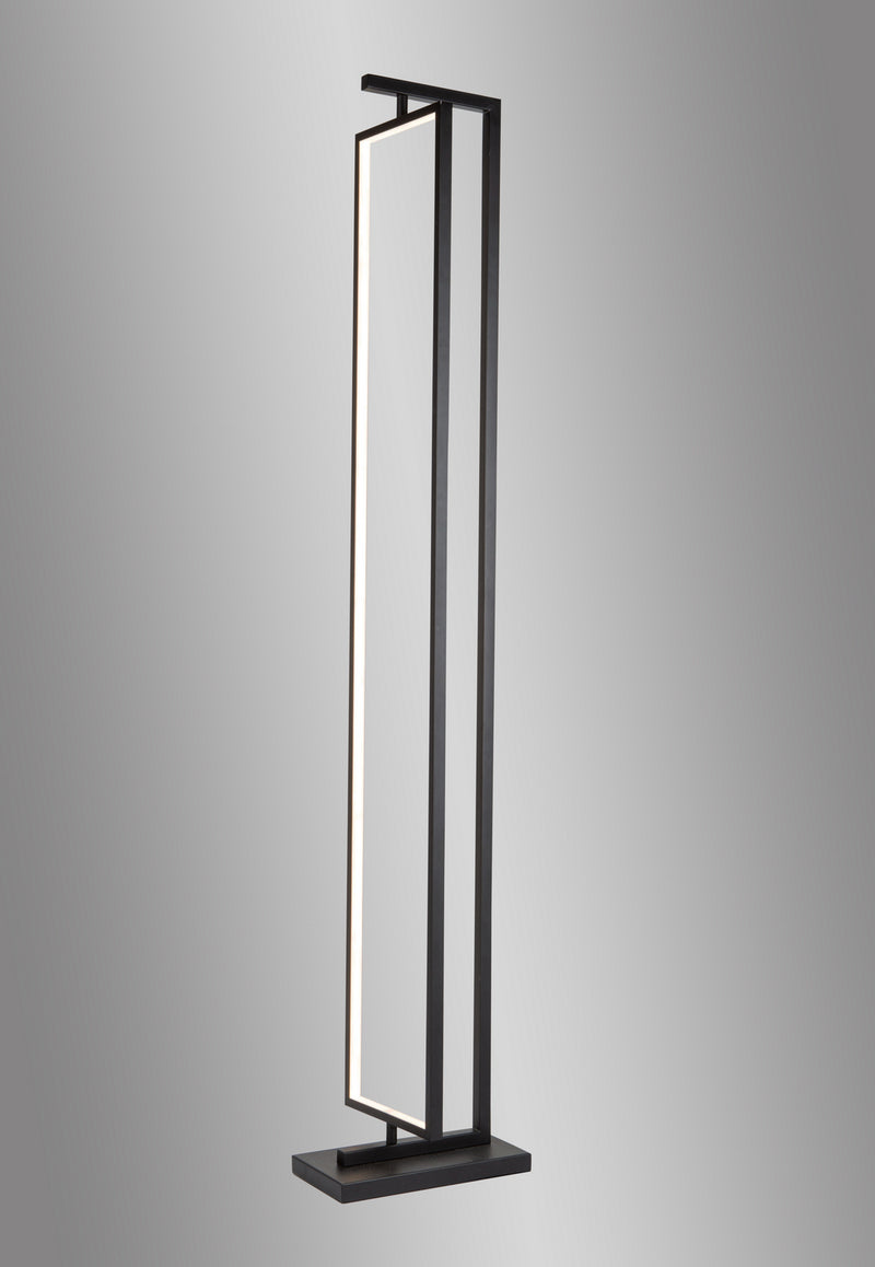 Artcraft AC7590BK Cortina One Light Floor Lamp