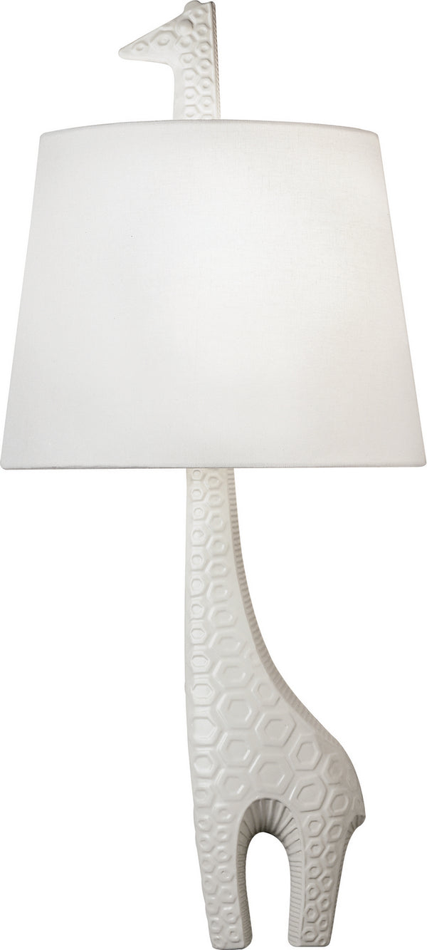 Robert Abbey 730L Jonathan Adler Ceramic Sconce One Light Wall Sconce