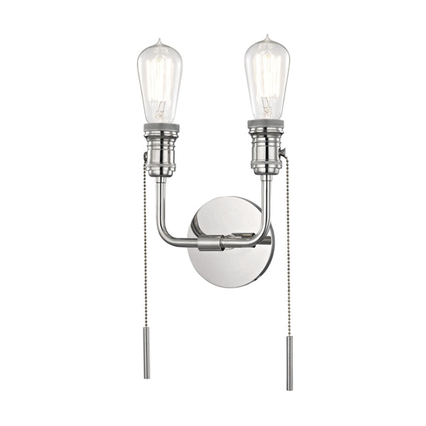 Mitzi H106102-PN Lexi Two Light Wall Sconce
