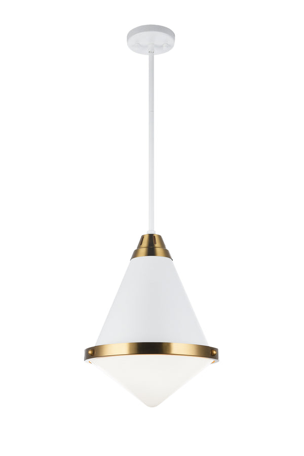 Matteo C70803WHOP Lloyd One Light Pendant