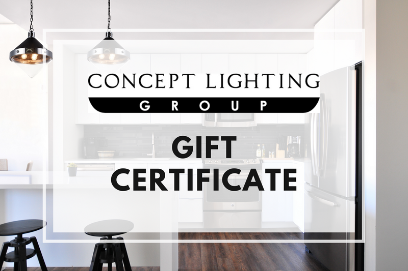 Concept Lighting Gift Card