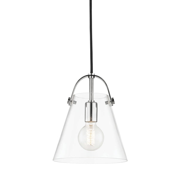 Mitzi H162701S-PN Karin One Light Pendant
