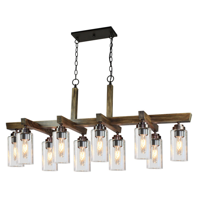 Artcraft AC10860DP Home Glow Ten Light Chandelier