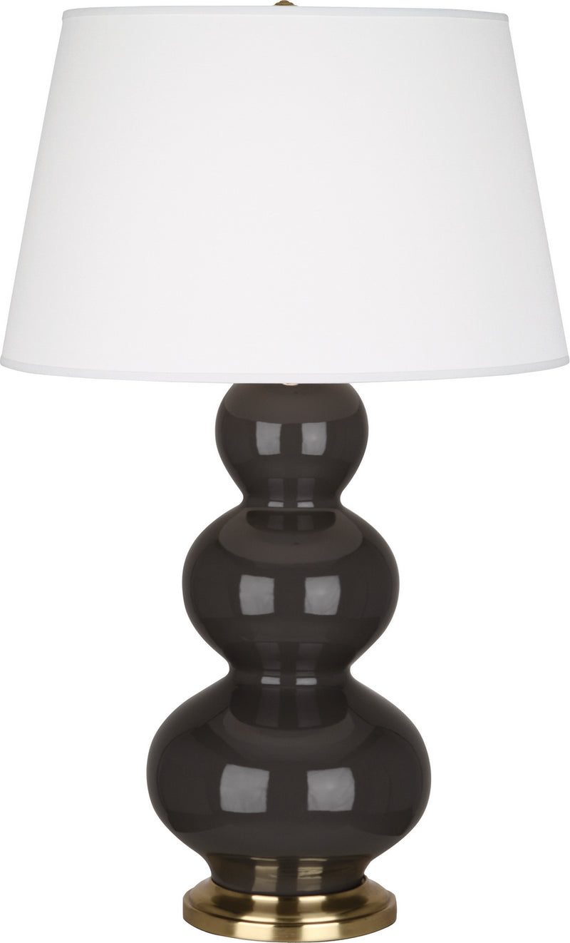 Robert Abbey CF40X Triple Gourd One Light Table Lamp
