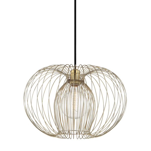 Mitzi H181701L-PB Jasmine One Light Pendant