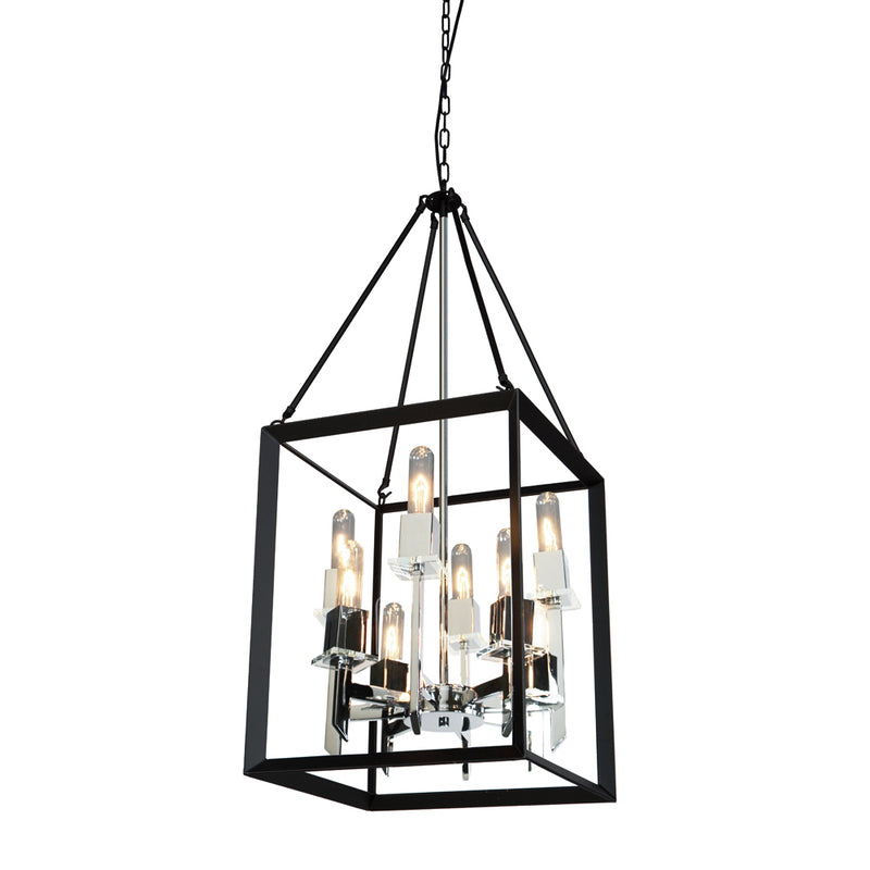Artcraft AC10068BC Vineyard Eight Light Chandelier
