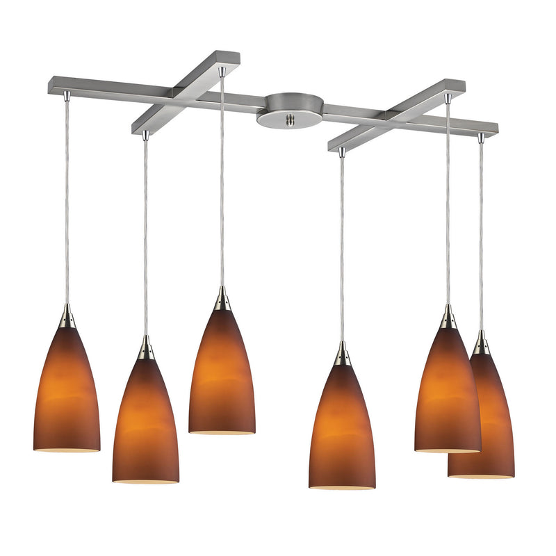 Elk Lighting Jun-82 Vesta Six Light Pendant