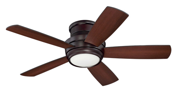 Craftmade TMPH44OB5 44`` Ceiling Fan w/Blades and Light Kit