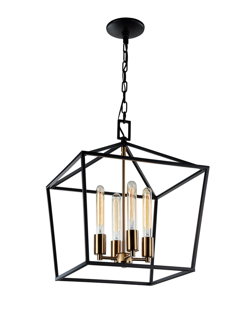 Matteo C61704RB Scatola Four Light Chandelier