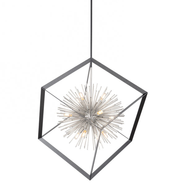 Artcraft AC11441CH Sunburst 12 Light Chandelier