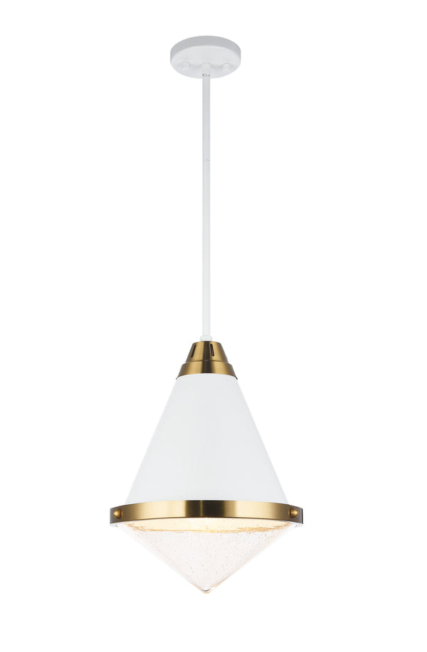 Matteo C70803WHBU Lloyd One Light Pendant