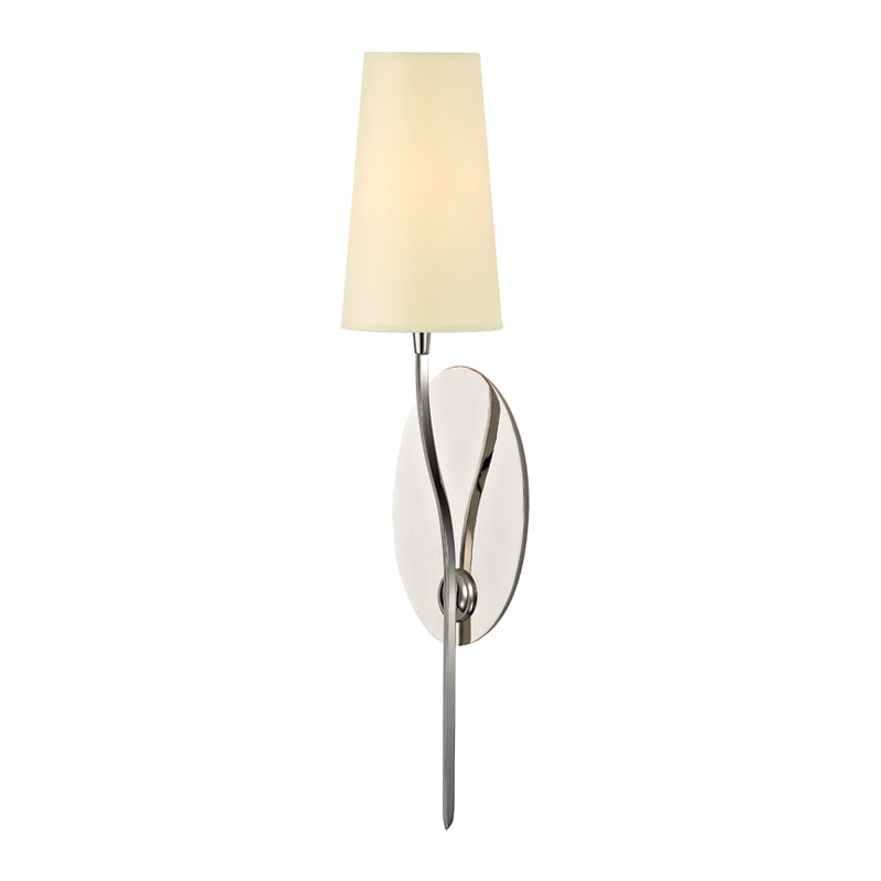 Hudson Valley 3711-PN Rutland One Light Wall Sconce
