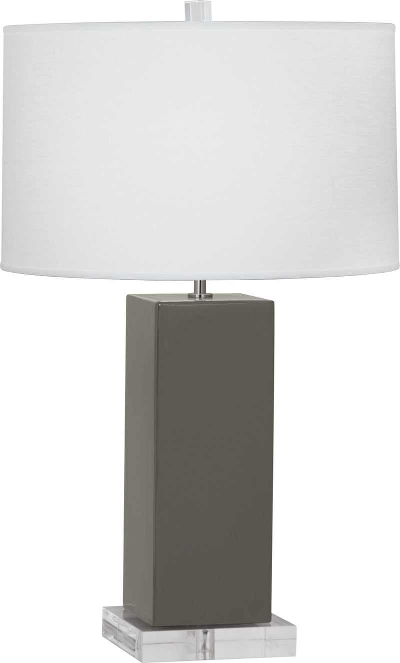 Robert Abbey CR995 Harvey One Light Table Lamp
