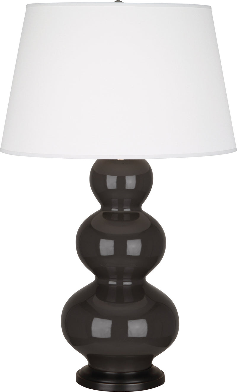 Robert Abbey CF41X Triple Gourd One Light Table Lamp