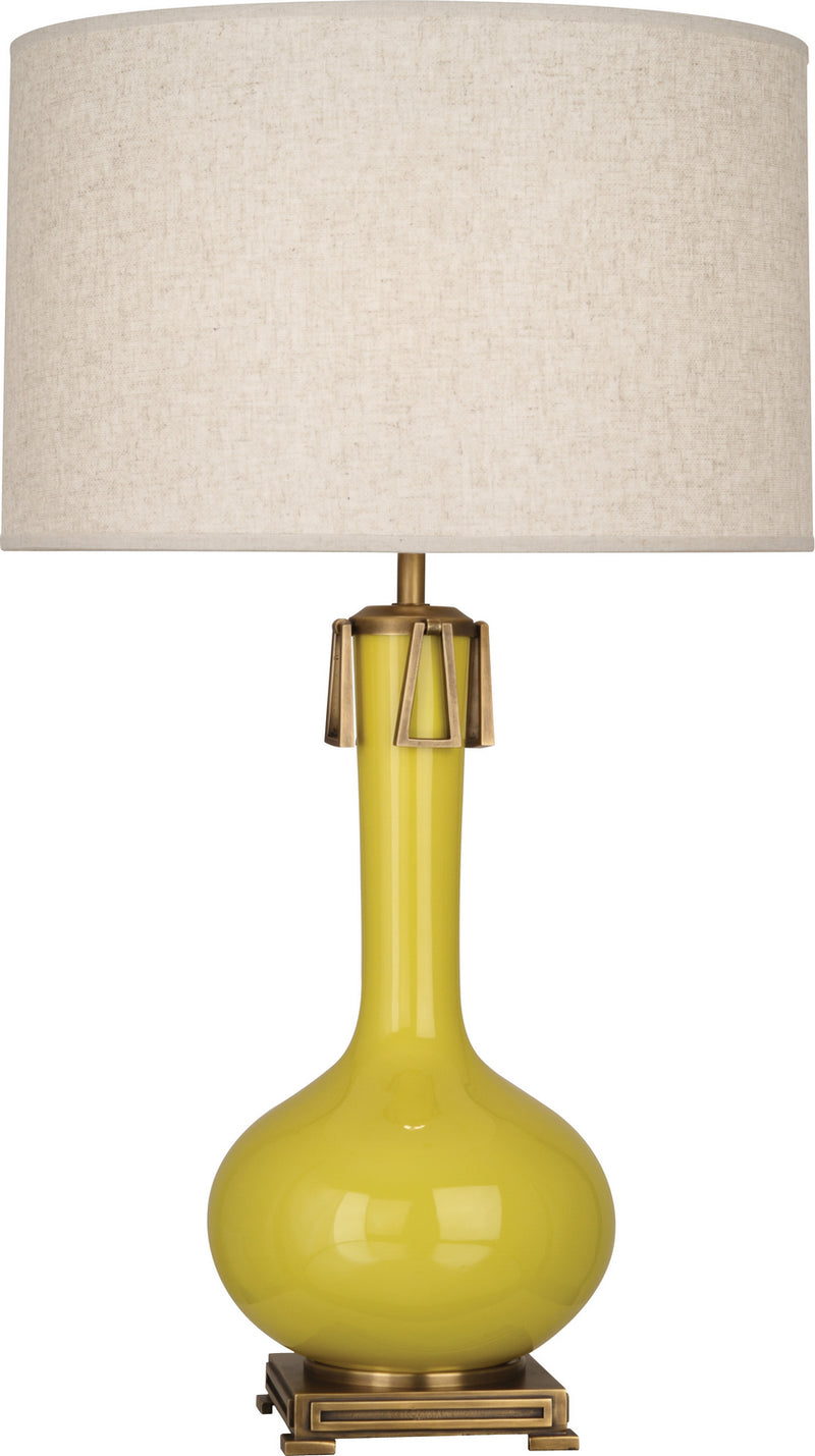 Robert Abbey CI992 Athena One Light Table Lamp