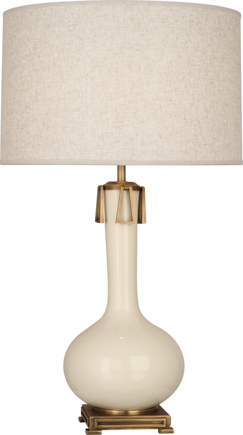 Robert Abbey BN992 Athena One Light Table Lamp