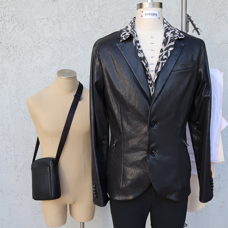 Introducing the Saint Lambskin Blazer: Be a bad-ass piece of eye-candy at your next event.
