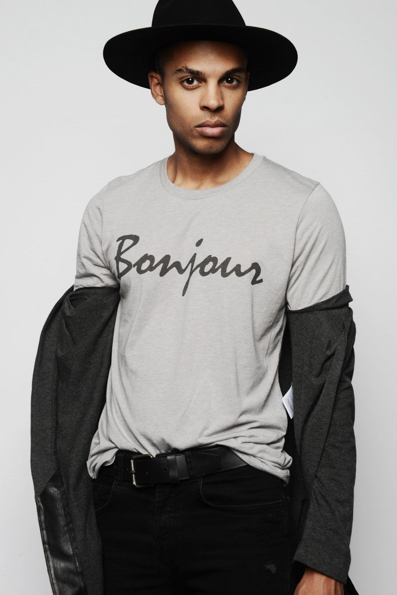 WICKLIFFE LOS ANGELES BONJOUR SHIRT
