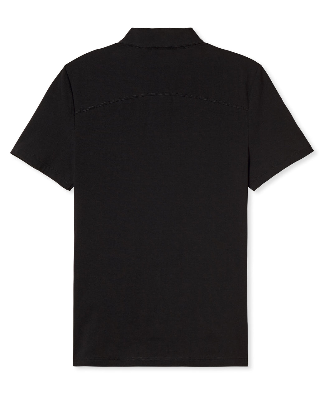 KENNETH ZIPPER POLO NOIR
